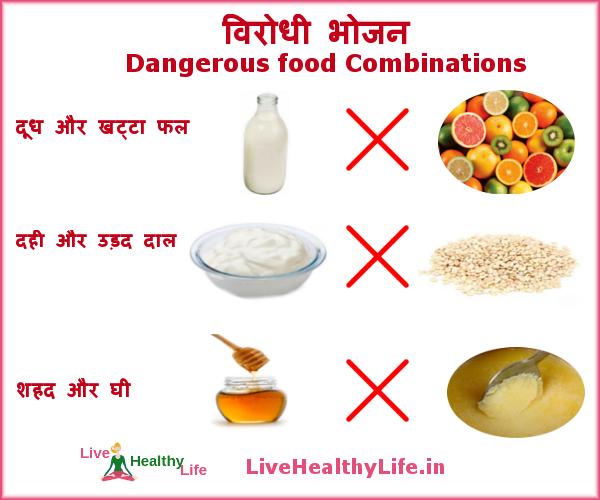 dangerous food combinations