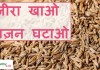 simple and fast lose weight tips with cumin seeds