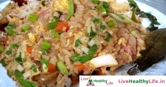 Butter garlic fried rice