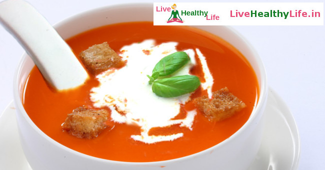 टोमेटो सूप - Home made Tomato Soup