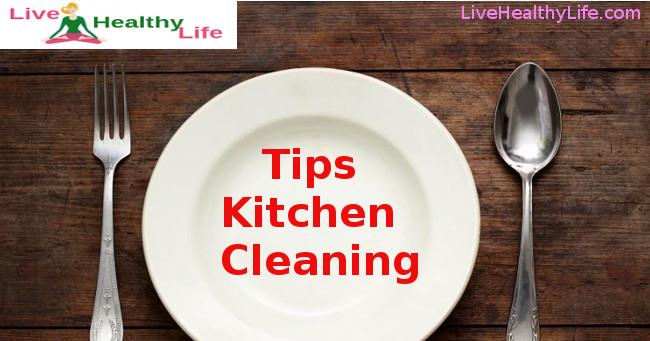 tips kitchen cleaning