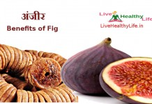 अंजीर - benefits of fig