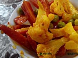 मिक्स सब्जियों का अचार - Mix Vegetable Achar