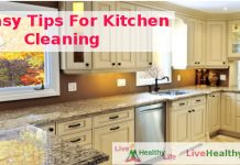 Easy Tips For Kitchen Cleaning