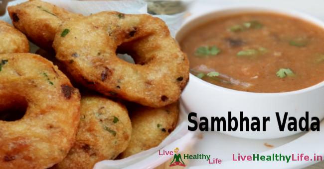Sambhar Vada
