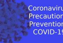 Coronavirus: Precautions, Prevention , COVID-19