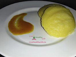 How to cook moong dal idli